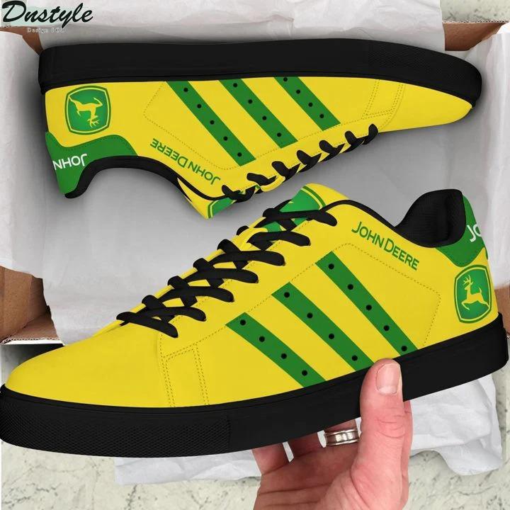 John deere yellow stan smith low top shoes