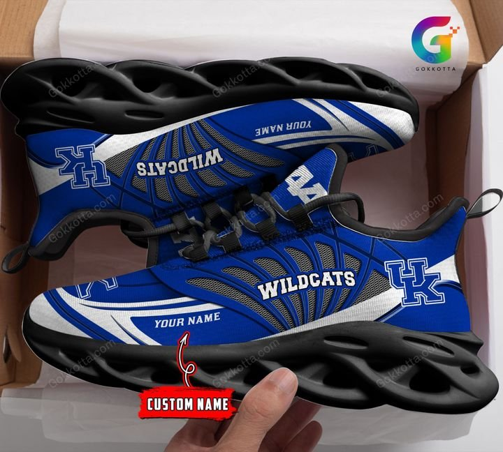Kentucky wildcats NCAA personalized max soul shoes 1