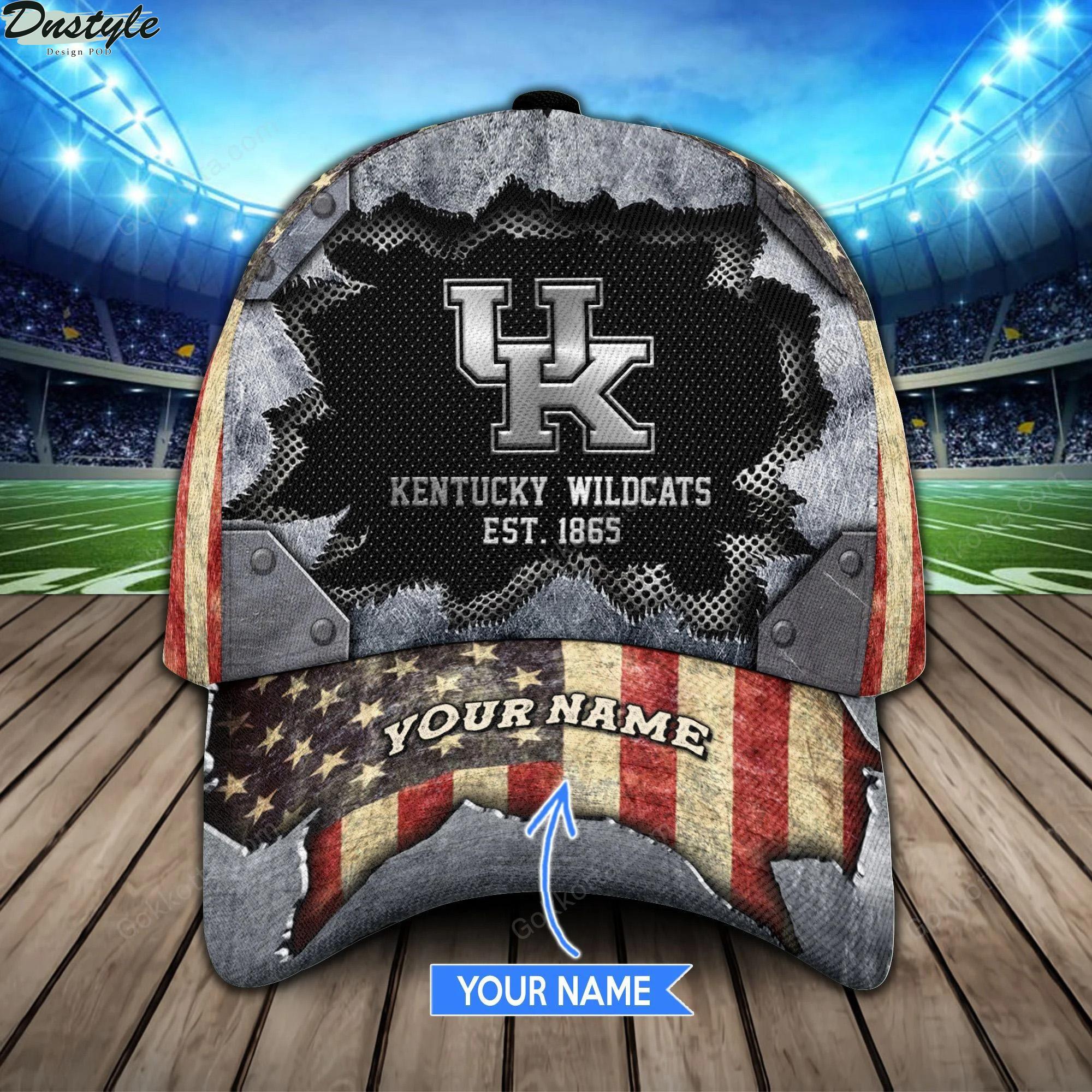 Kentucky wildcats est 1865 personalized classic cap