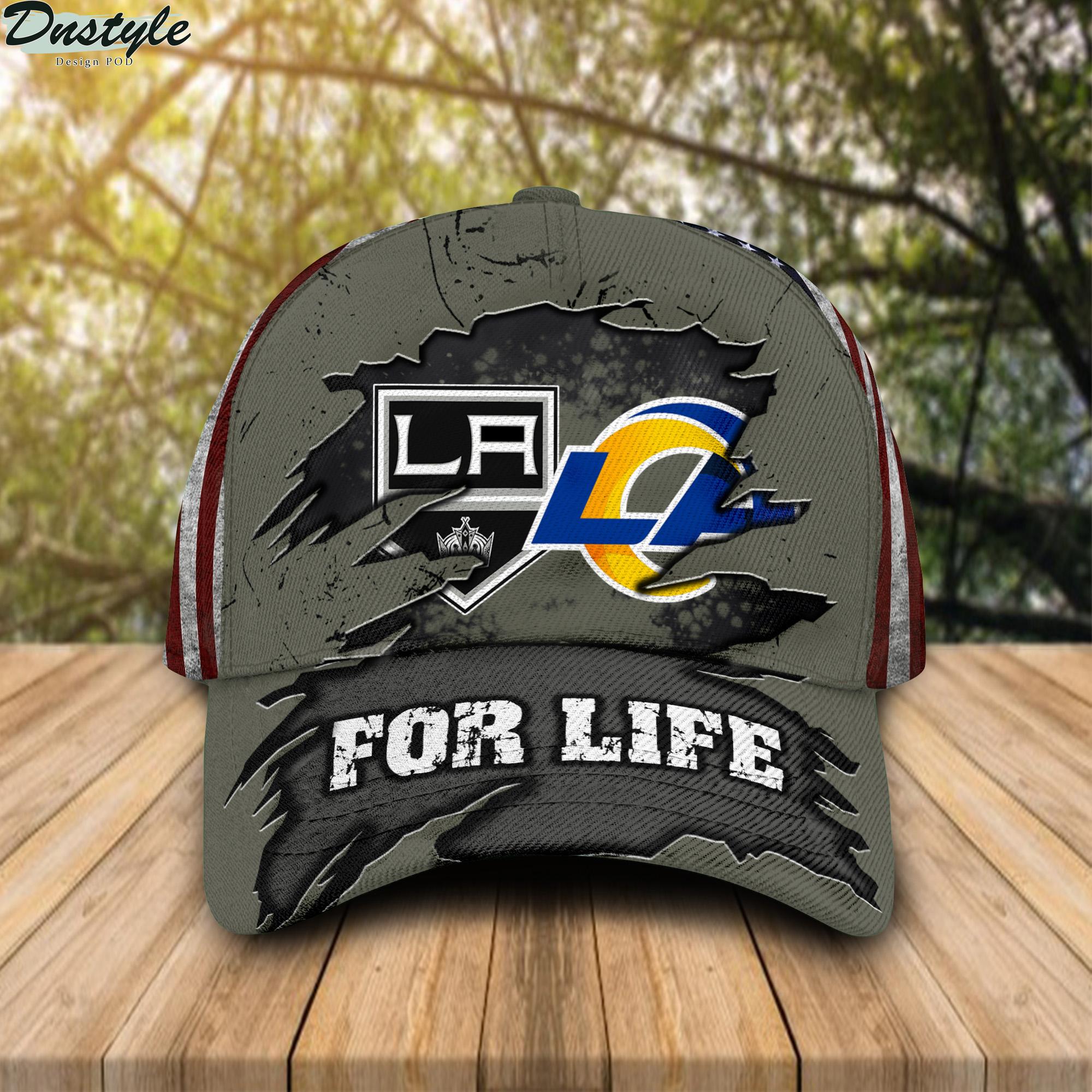 Los Angeles Kings Los Angeles Rams For Life Cap