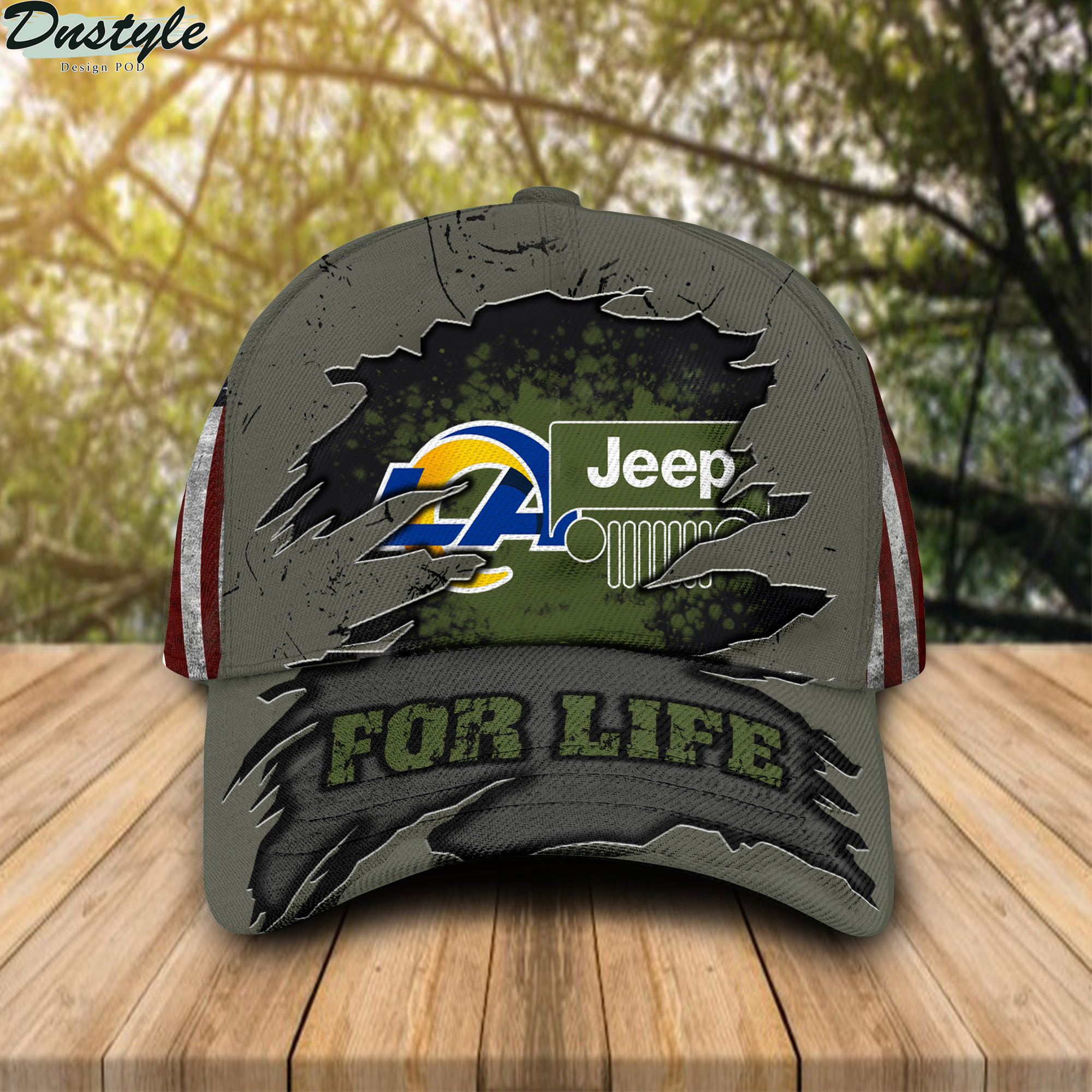 Los Angeles Rams Jeep For Life Cap