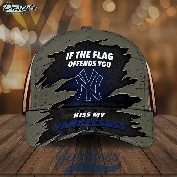 If the flag offends you kiss my Yankeesass hat cap