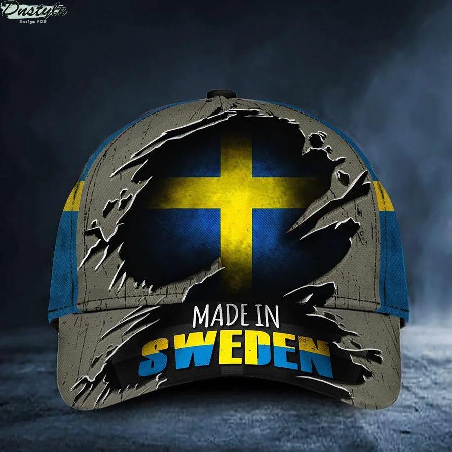 Made In Sweden Flag Hat
