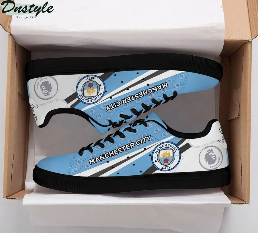 Manchester city stan smith low top shoes