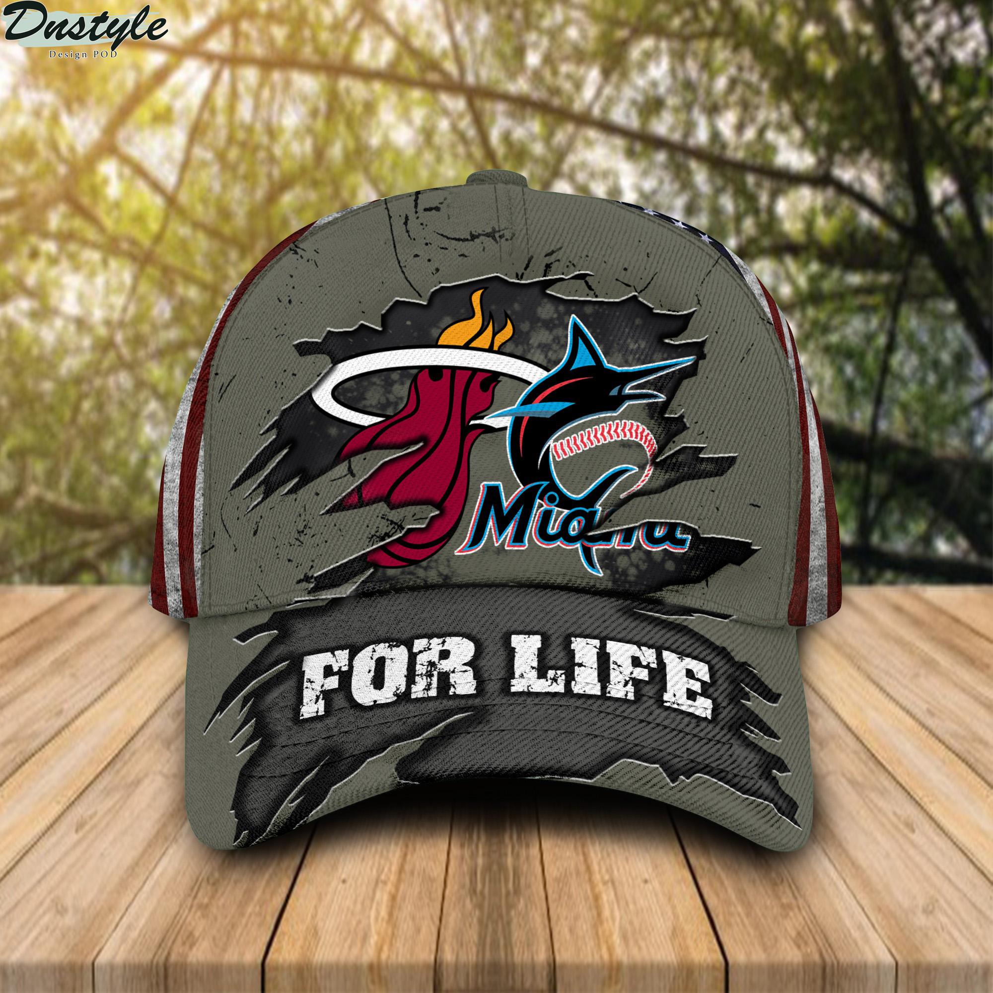 Miami Marlins Miami Heat For Life Cap