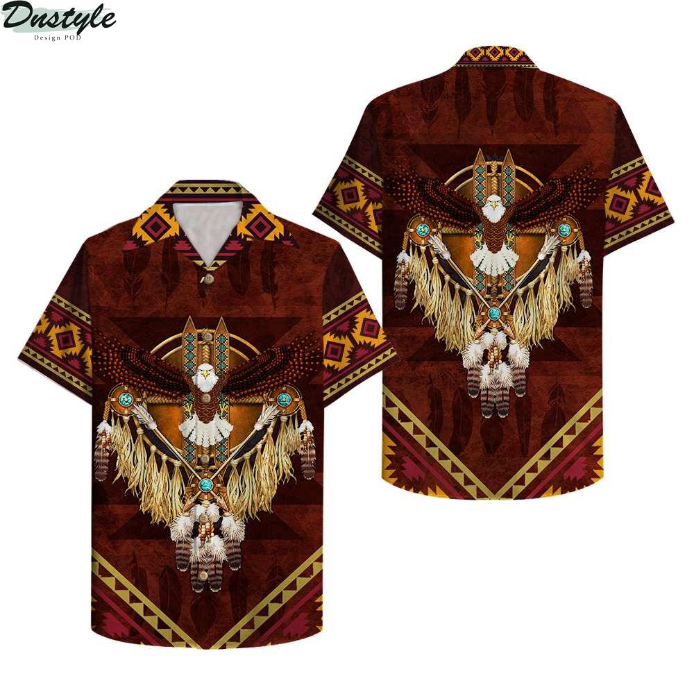 Native American Eagle Hawaiian Shirt