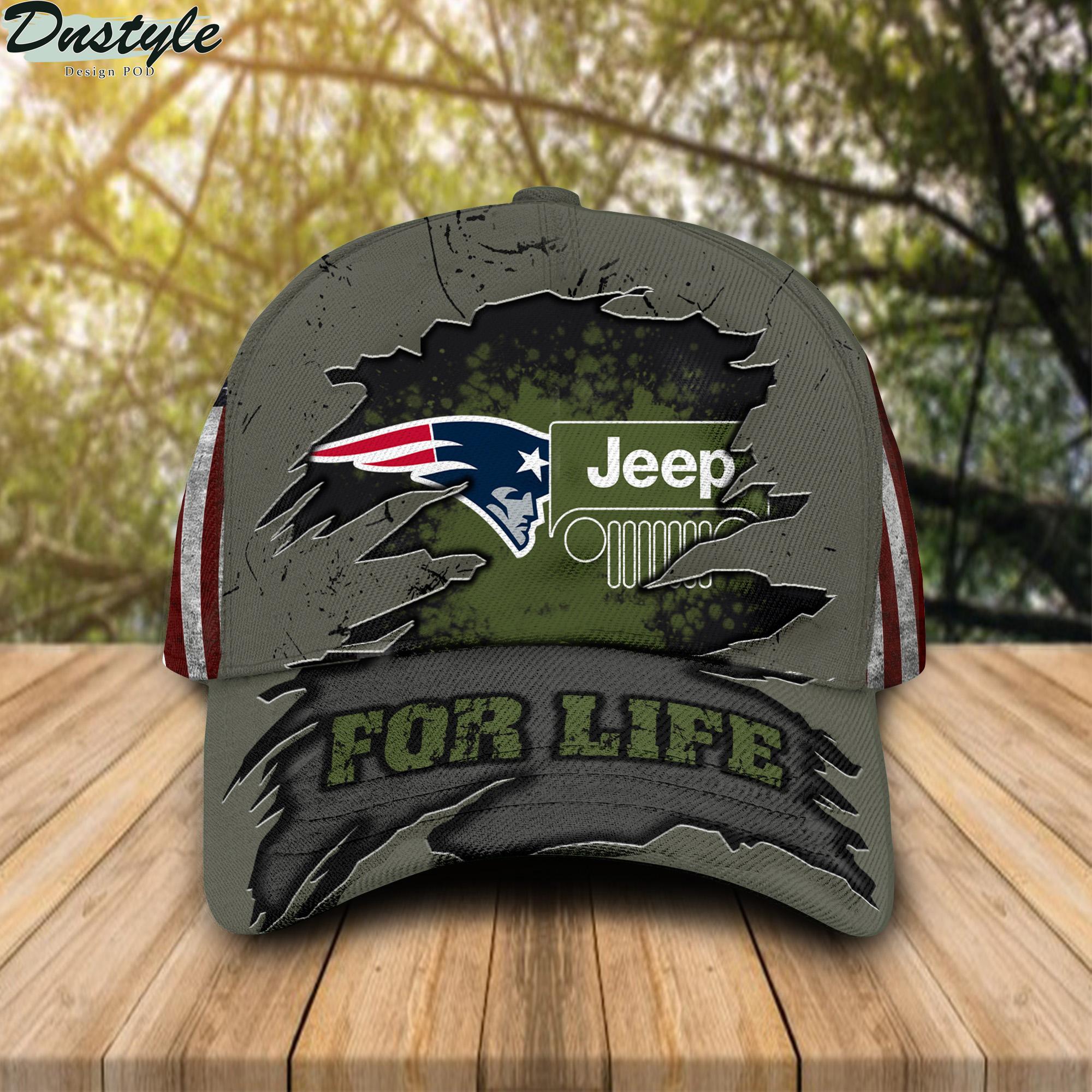New England Patriots Jeep For Life Cap