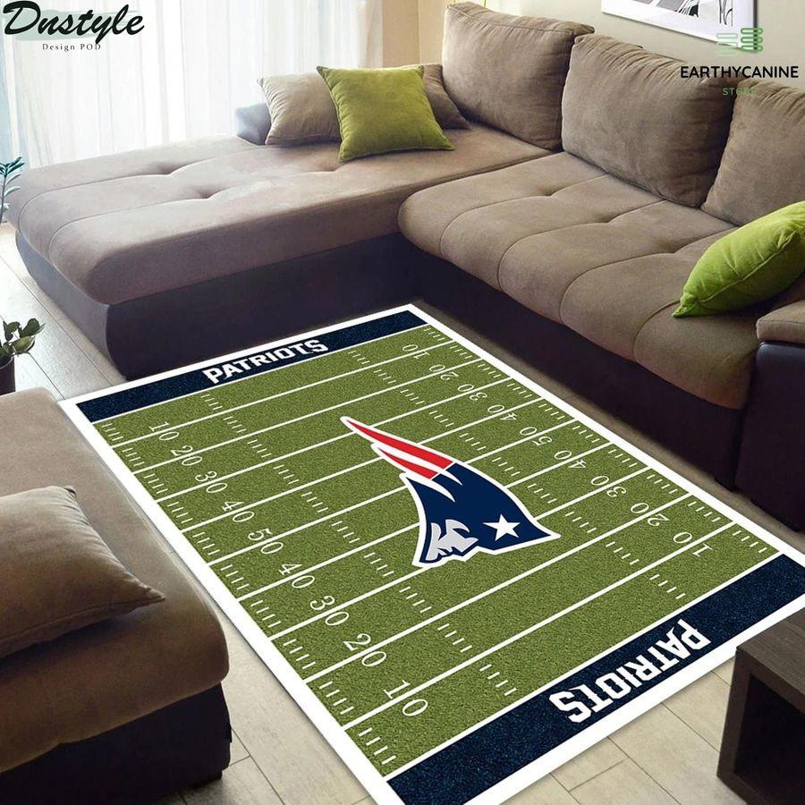 New England Patriots NFL rug
