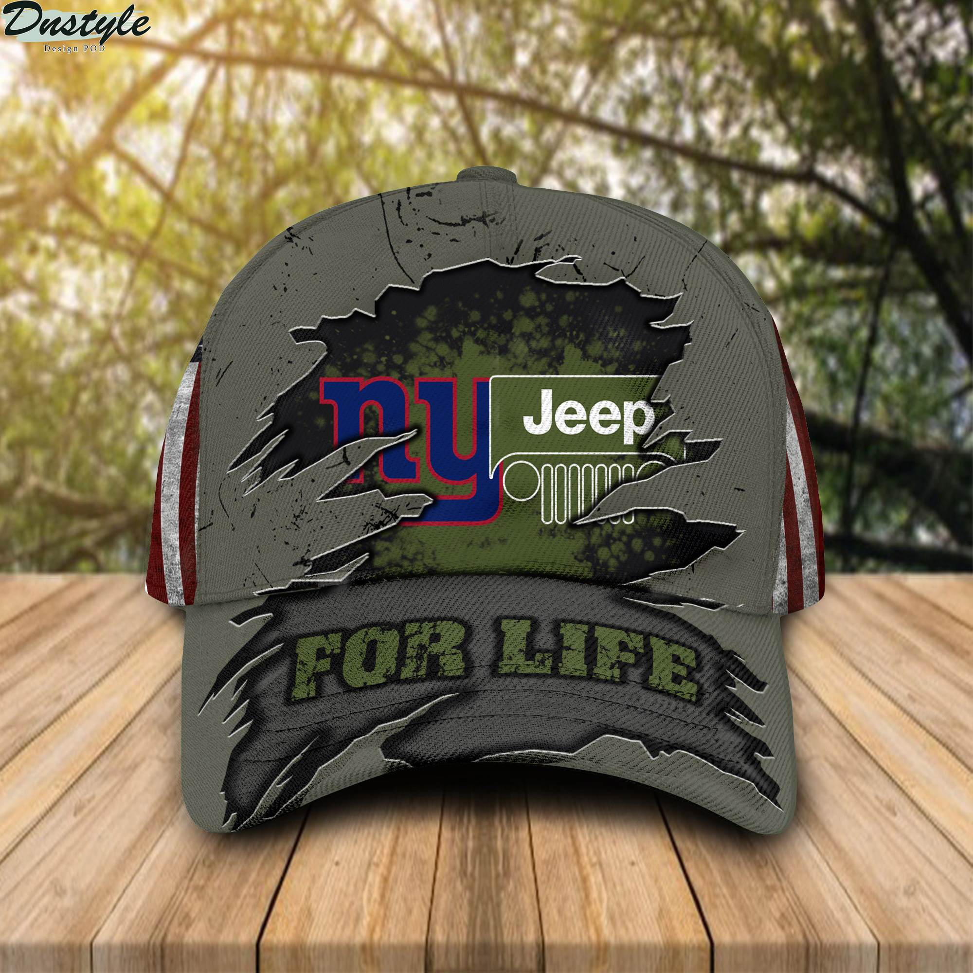 New York Giants Jeep For Life Cap