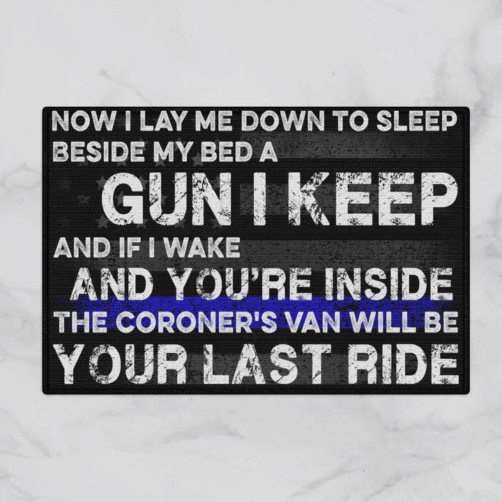 Now i lay me down to sleep doormat 1