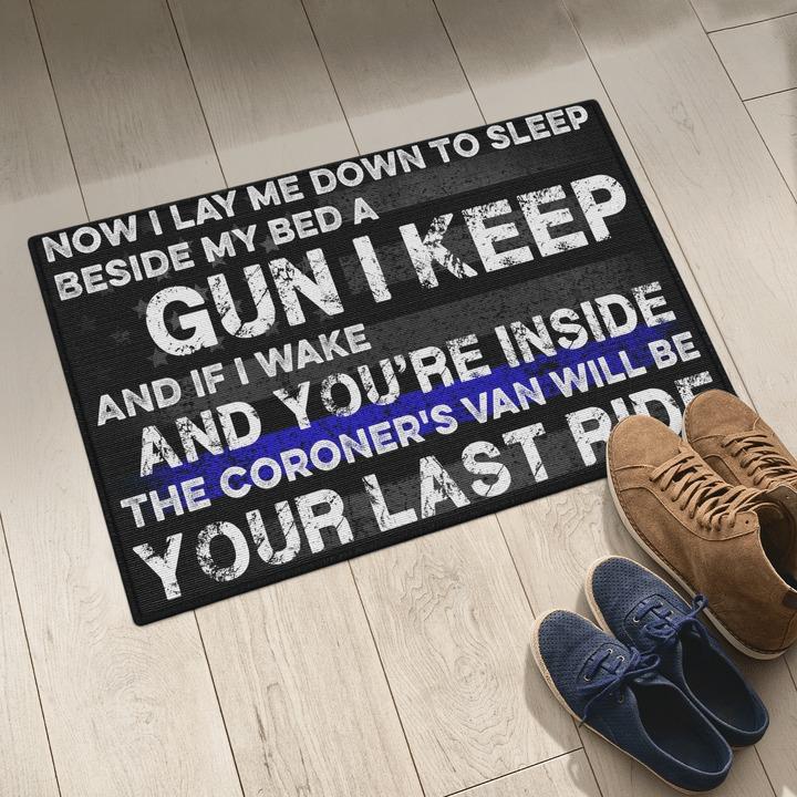 Now i lay me down to sleep doormat 2