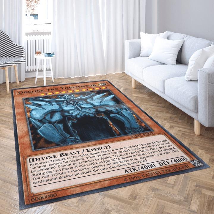 Obelisk the tormentor card rug 1