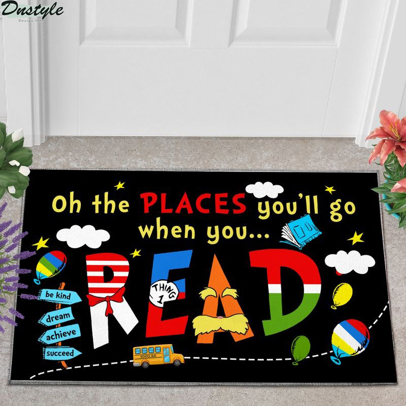 Oh the places you'll go when you read doormat
