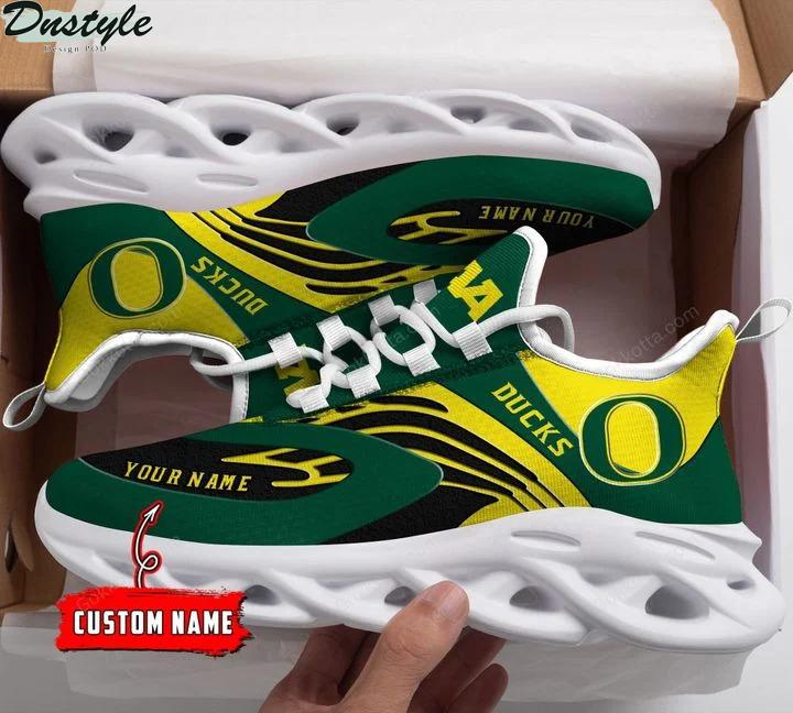 Oregon ducks NCAA personalized max soul shoes