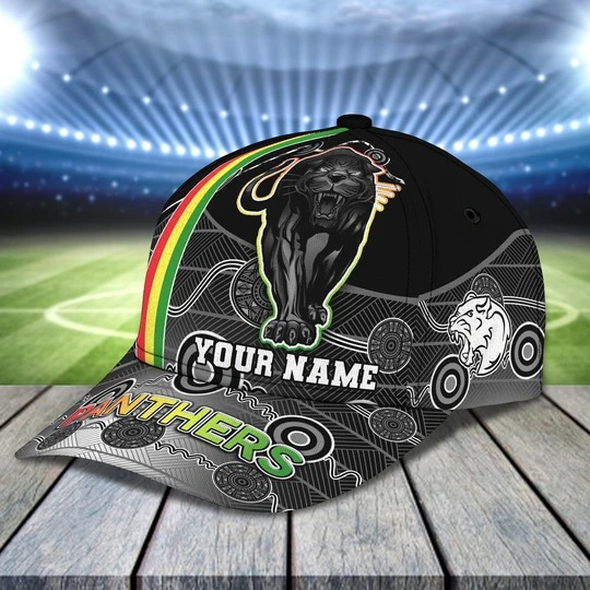 Penrith Panthers Personalized Name Cap 1