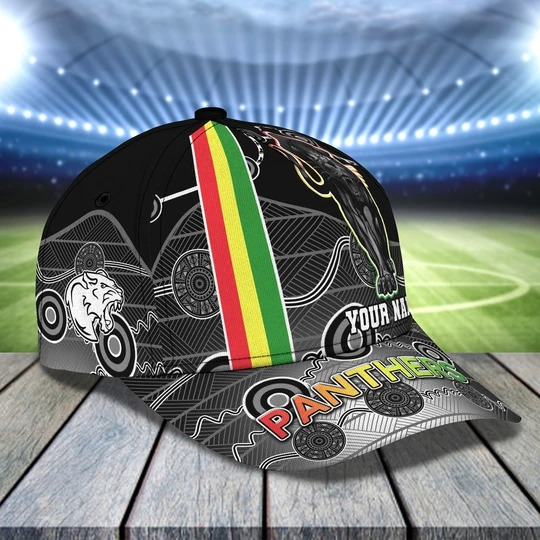 Penrith Panthers Personalized Name Cap 2
