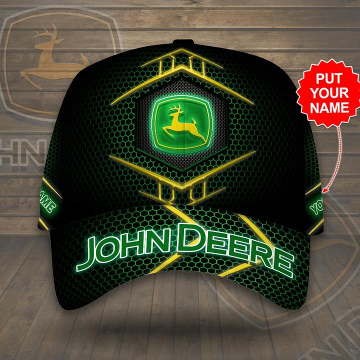 Personalized John Deere printed hat 1