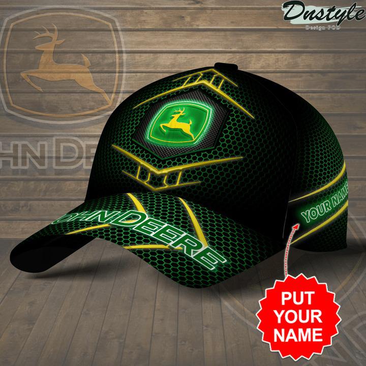 Personalized John Deere printed hat