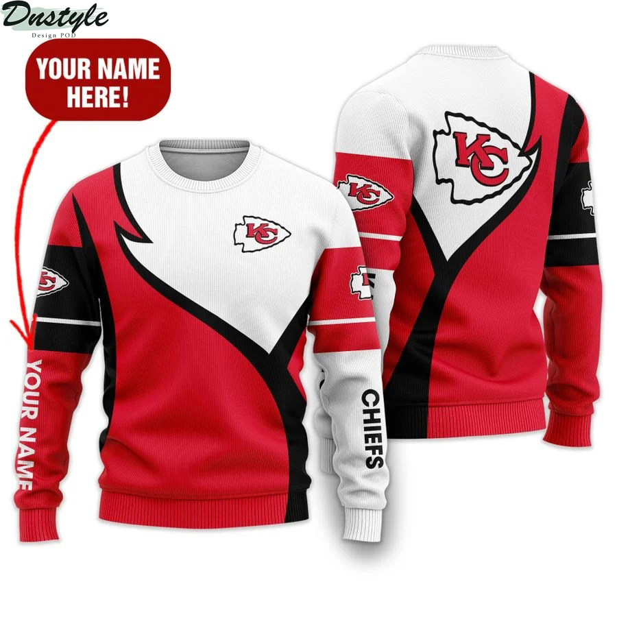 Personalized Kansas City Chiefs NFL all over printed ugly sweater