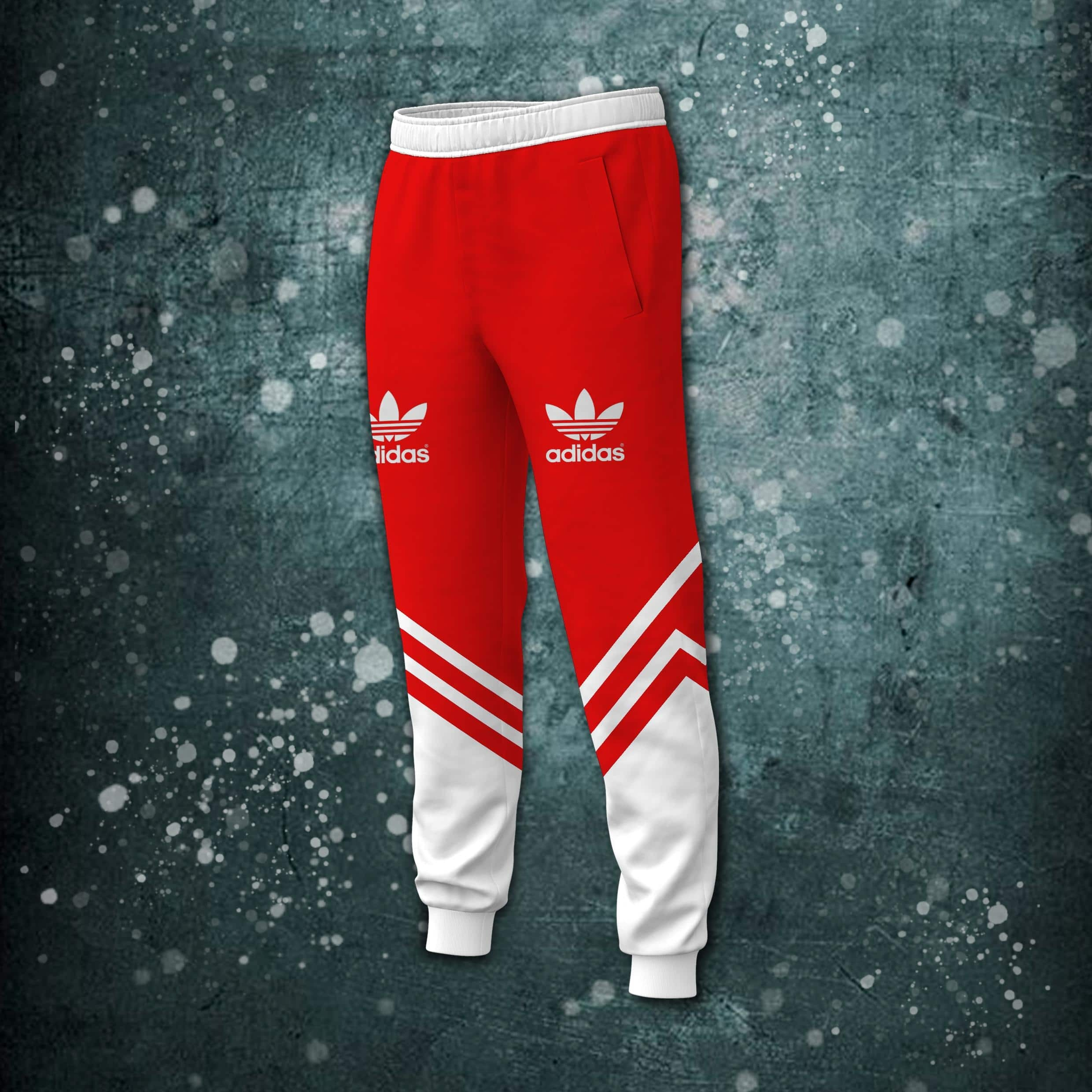 Personalized custom name adidas all over printed long pant