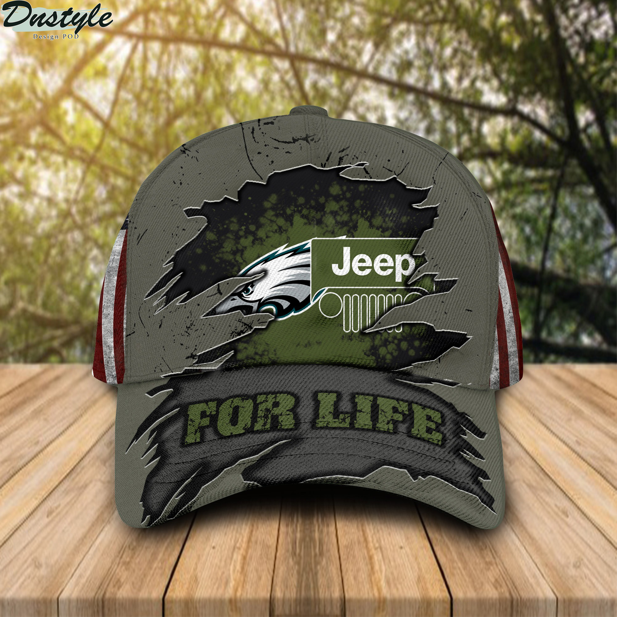 Philadelphia Eagles Jeep For Life Cap