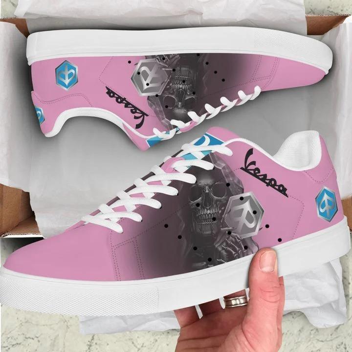 Piaggo vespa pink stan smith low top shoes 1