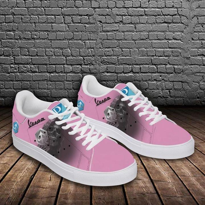 Piaggo vespa pink stan smith low top shoes 2