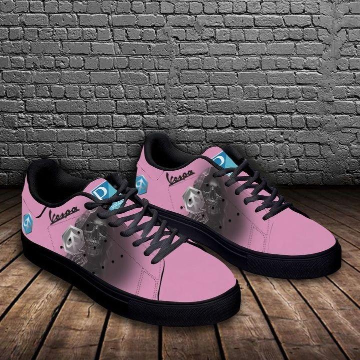 Piaggo vespa pink stan smith low top shoes 3