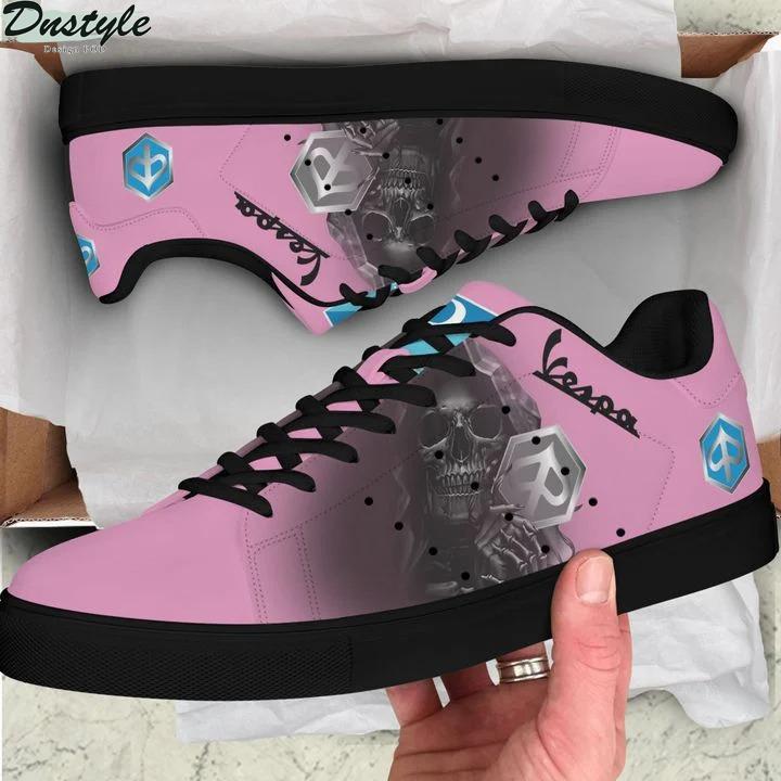 Piaggo vespa pink stan smith low top shoes
