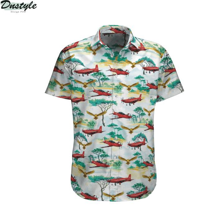 Pilatus pc-21 australian royal air force hawaiian shirt