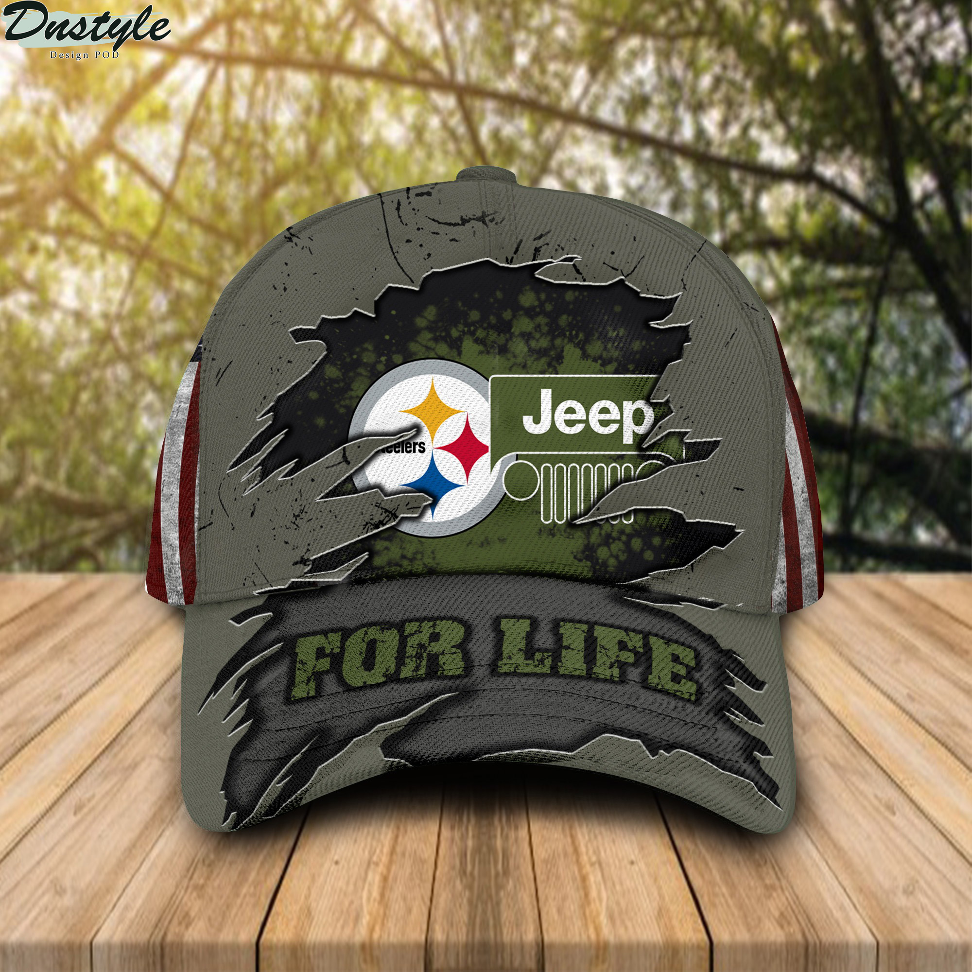 Pittsburgh Steelers Jeep For Life Cap