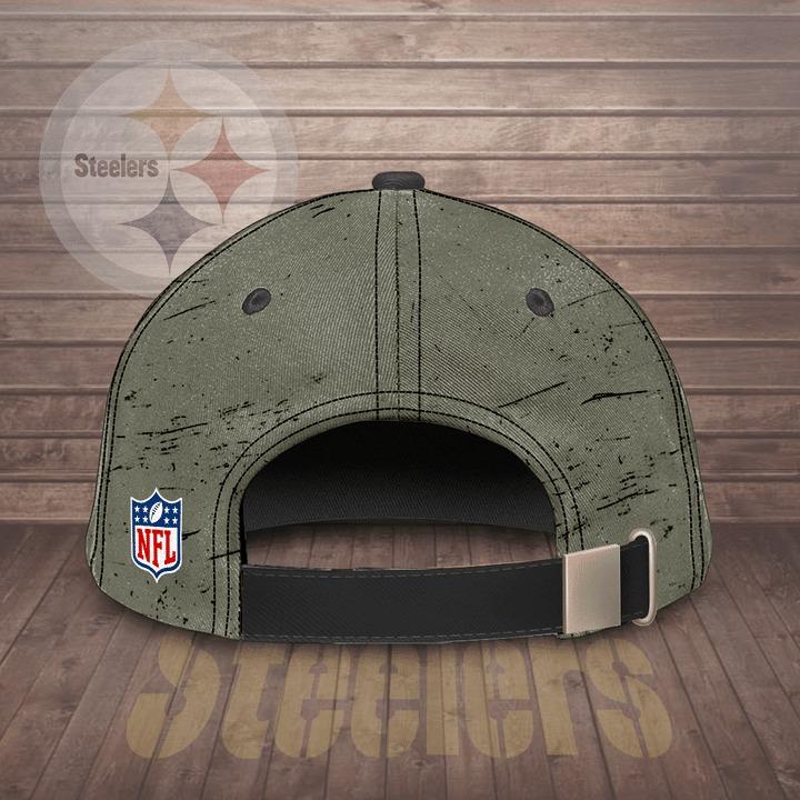 Pittsburgh Steelers win lose or tie Steeler till I die personalized cap hat 2