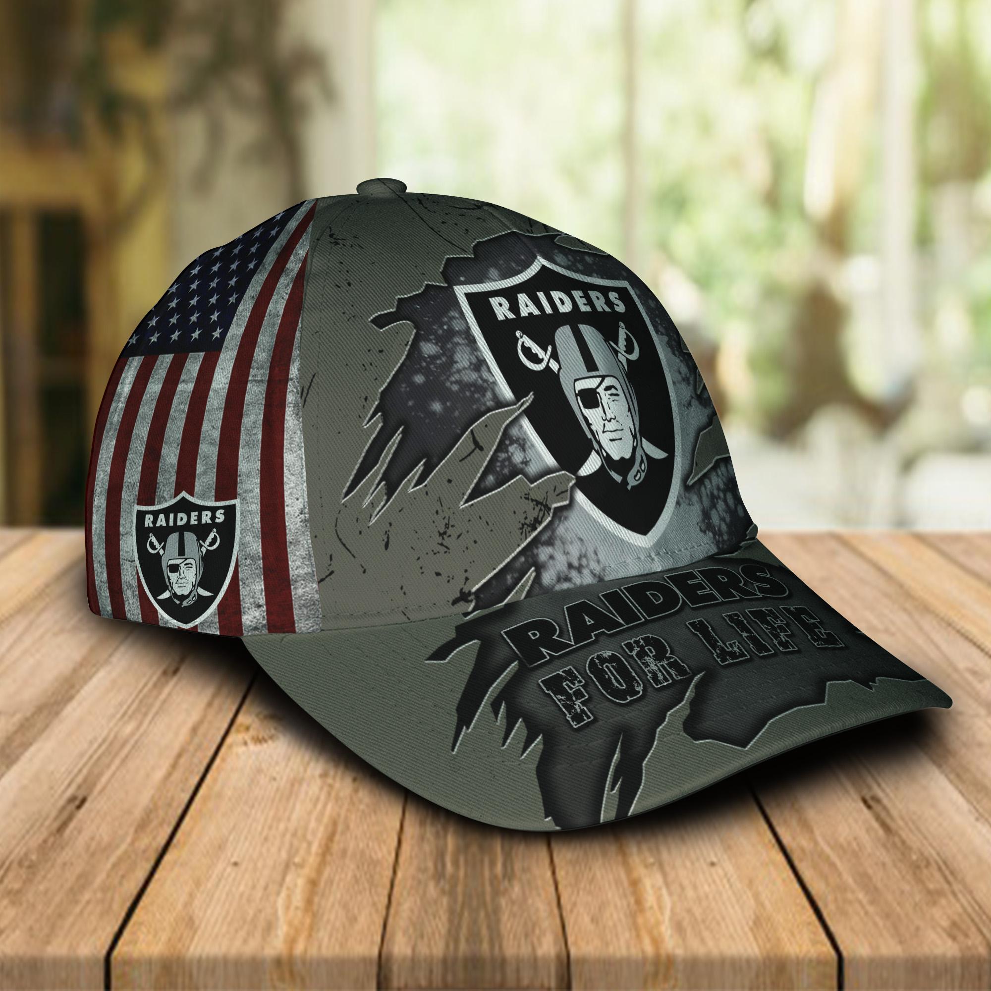 Raiders For Life Cap 1