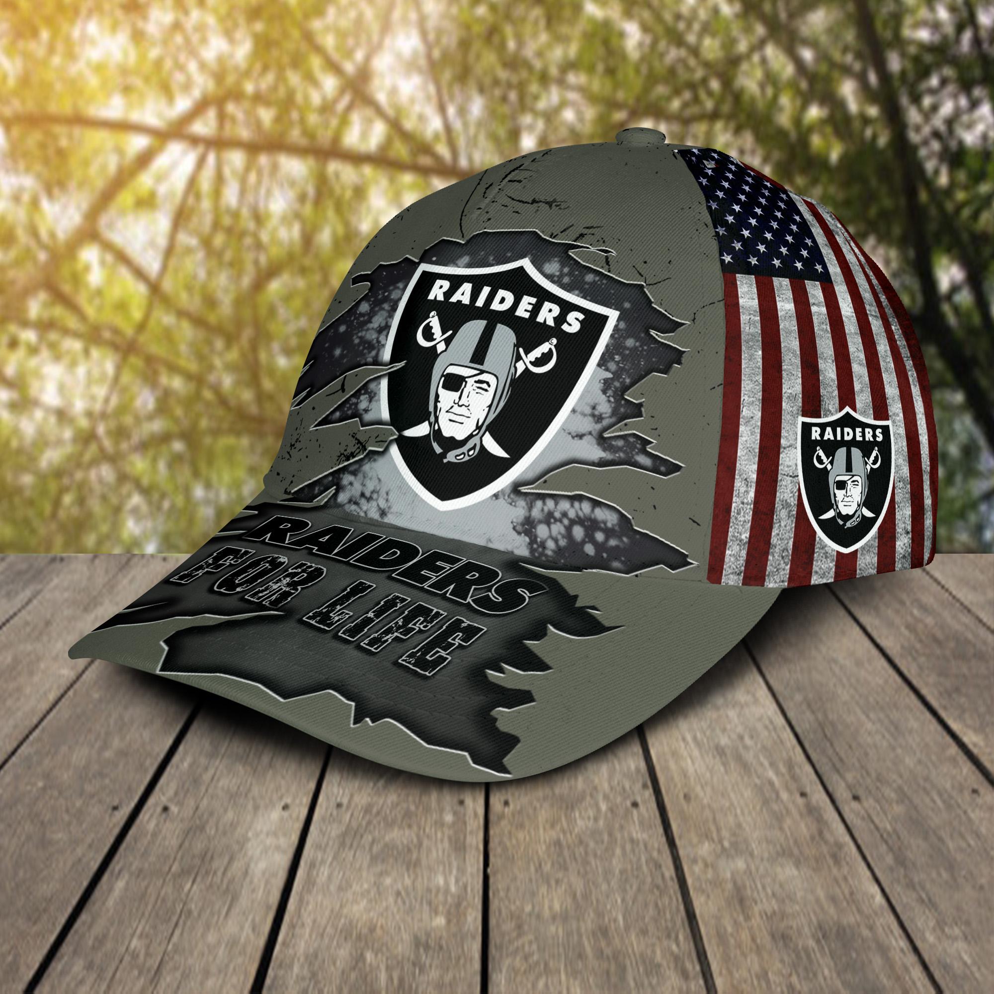 Raiders For Life Cap 2
