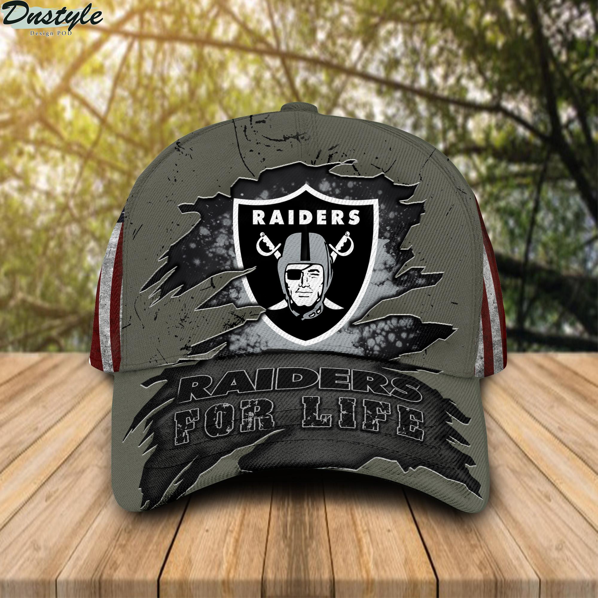 Raiders For Life Cap