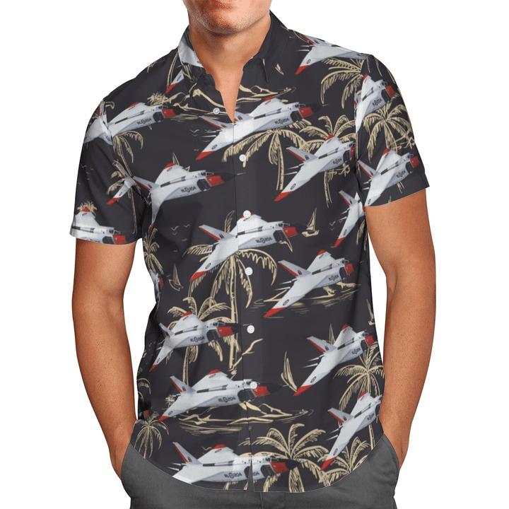 Rcaf avro canada cf-105 arrow hawaiian shirt 1