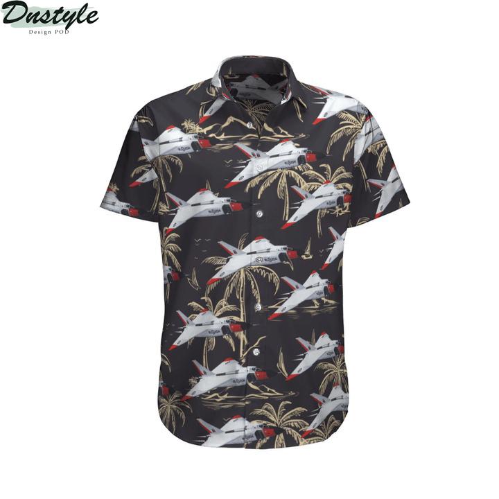 Rcaf avro canada cf-105 arrow hawaiian shirt