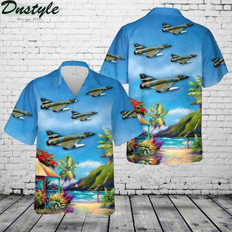 Royal Australian Air Force Mirage IIIE Hawaiian Shirt