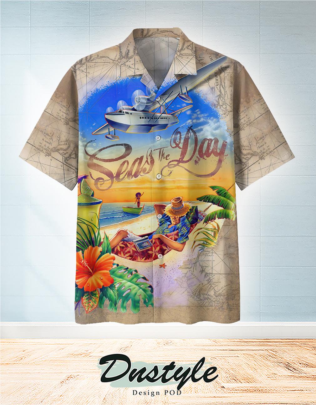 Seas the day Hawaiian Shirt