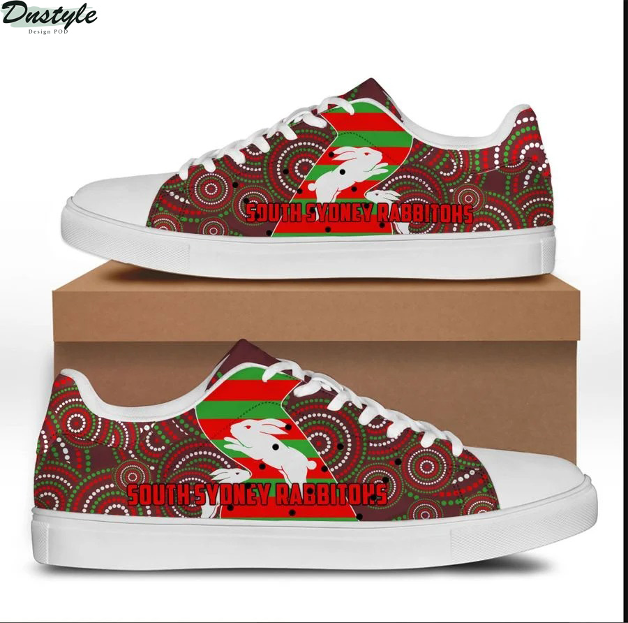 South sydney rabbitohs stan smith low top shoes