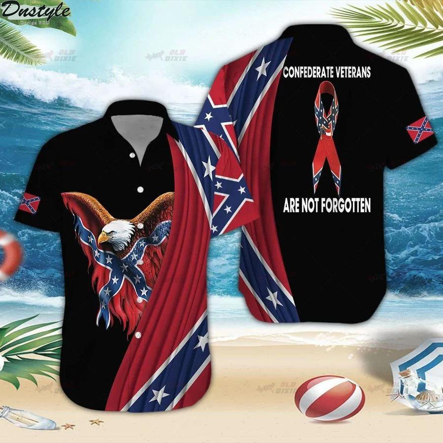 Southern confederate veterans are not forgotten hawaiian shirt