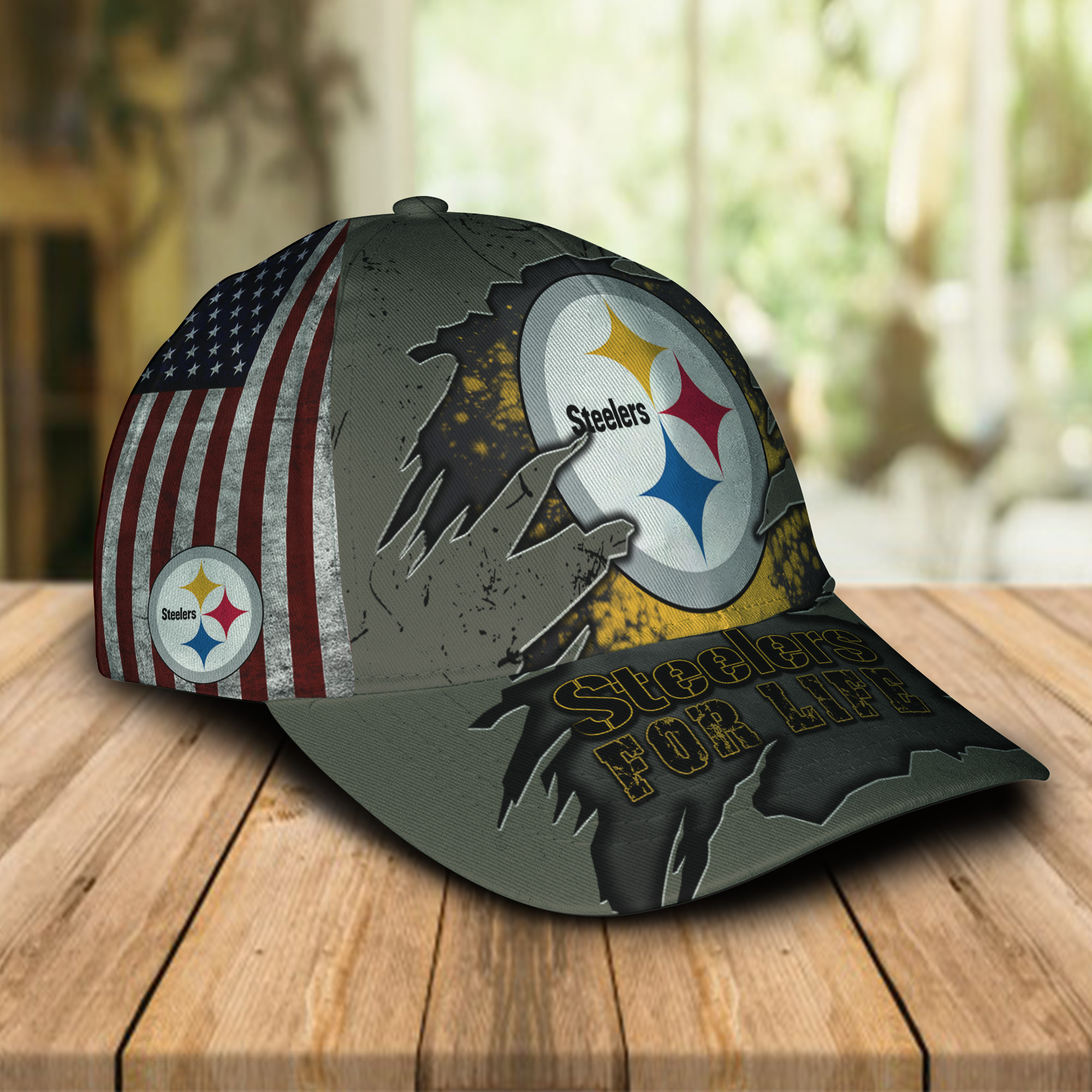 Steelers For Life Cap 1