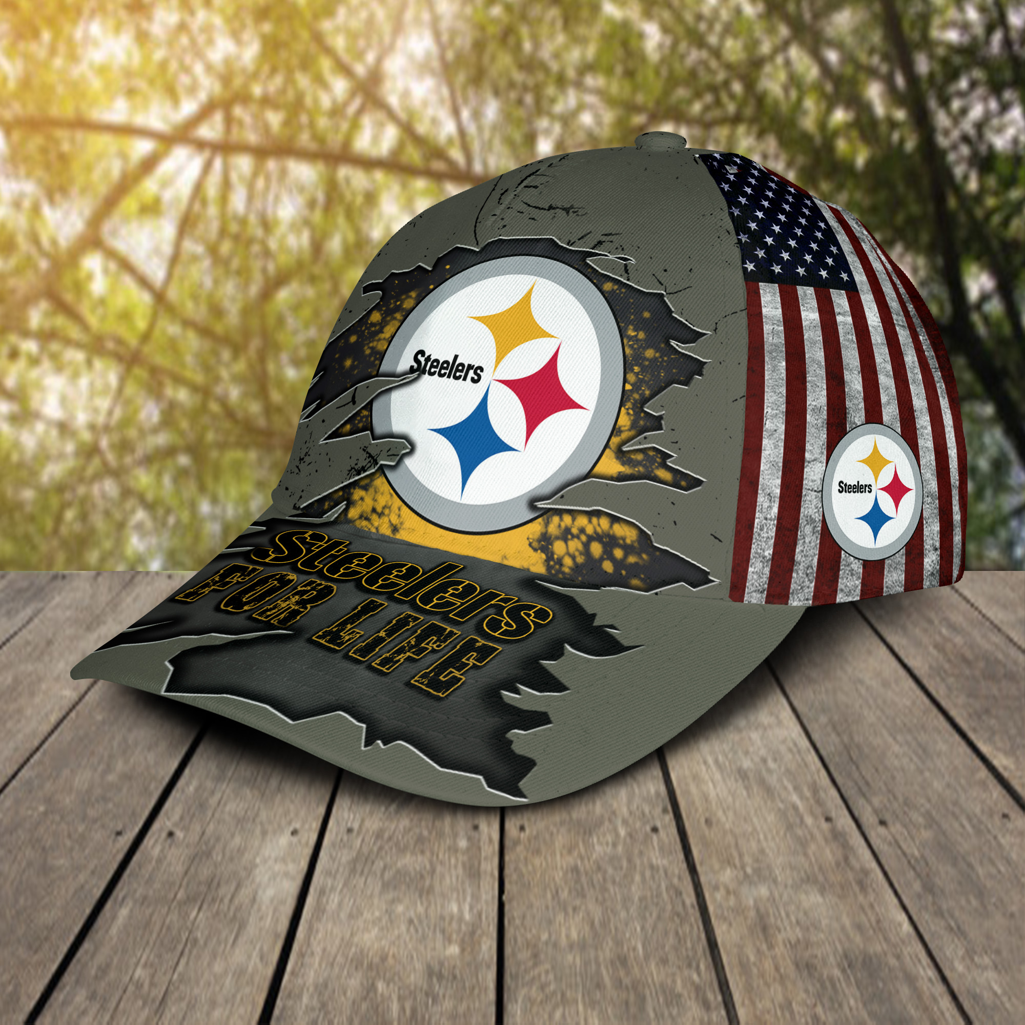 Steelers For Life Cap 2