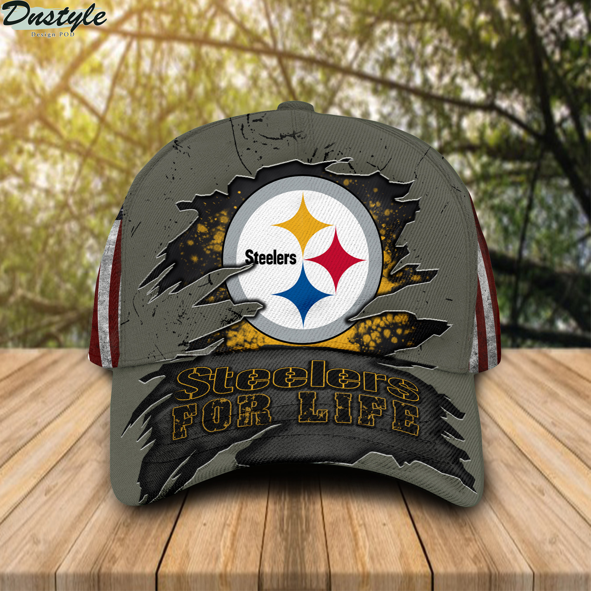 Steelers For Life Cap