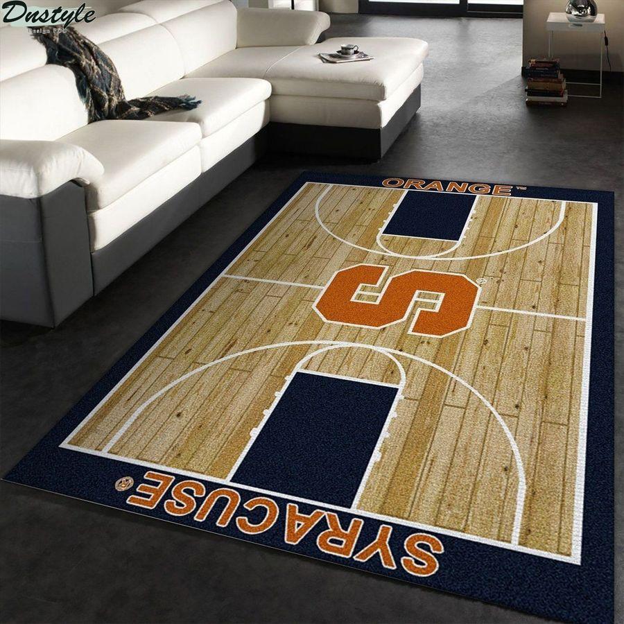 Syracuse orange football rug