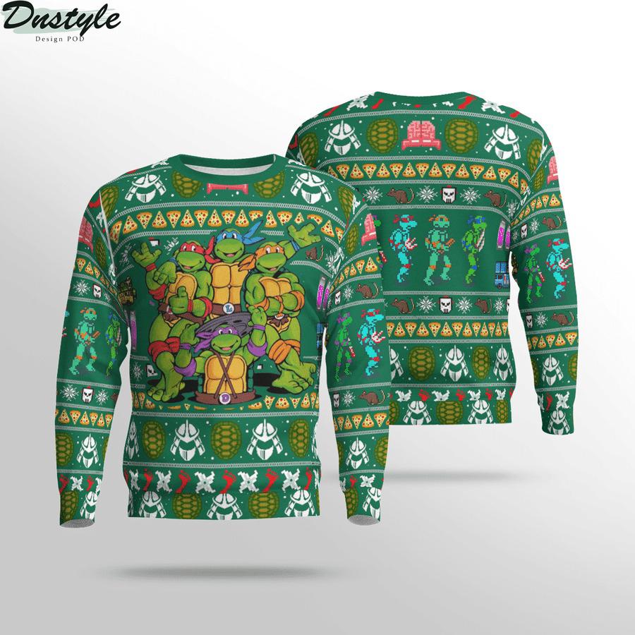 TMNT Teenage Mutant Ninja Turtles Ugly Christmas Sweater