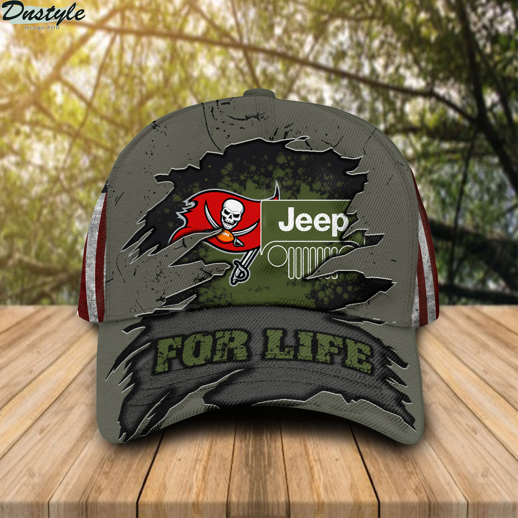 Tampa Bay Buccaneers Jeep For Life Cap