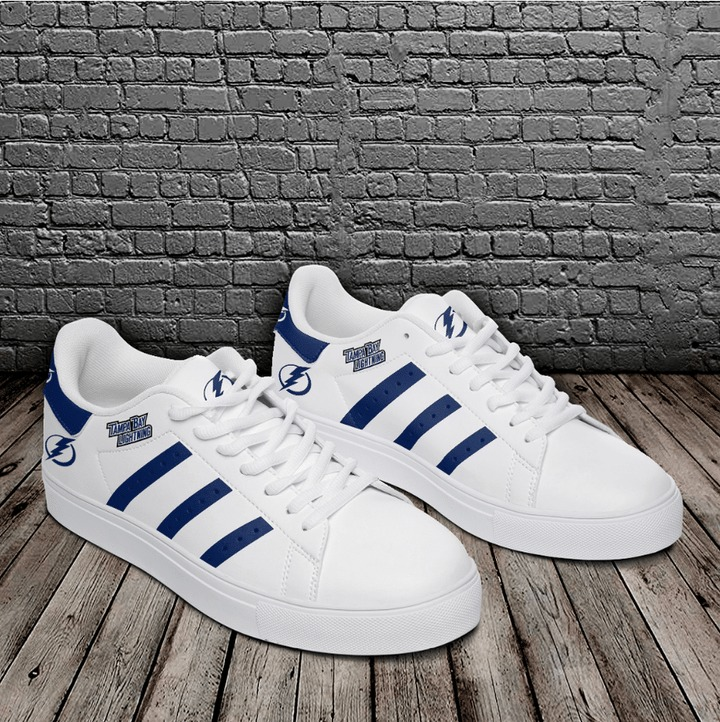 Tampa bay lightning NHL stan smith low top shoes 2