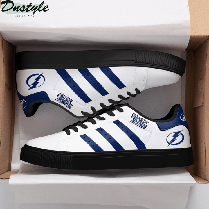 Tampa bay lightning NHL stan smith low top shoes