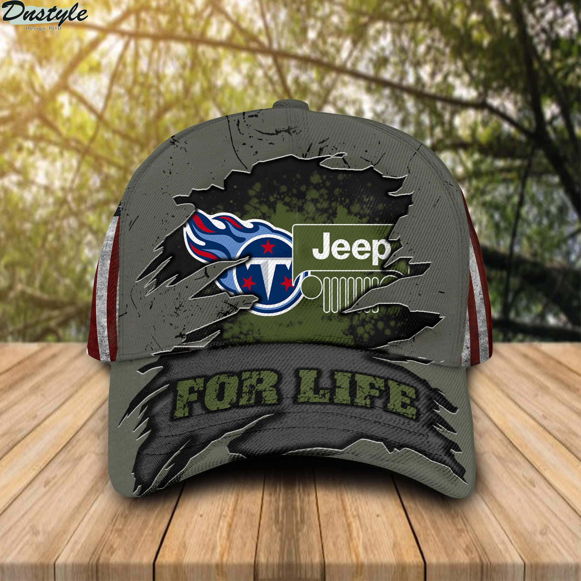 Tennessee Titans Jeep For Life Cap